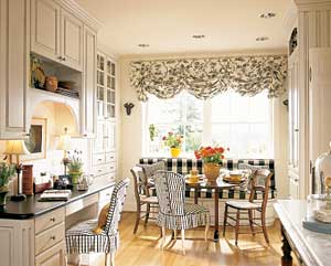 Decorating inspiration black white hooked on houses for Wine country decorating ideas
