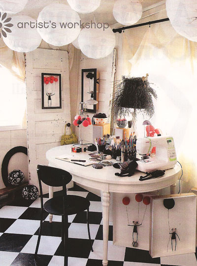 Decorating Inspiration: Black & White