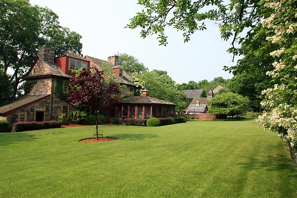 house tour pheasant hill farm in bucks county pa hooked on houses