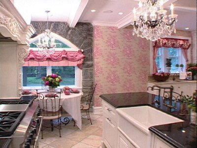 Pink Fancy Kitchen