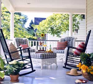 Decorating Inspiration In Praise Of Porches