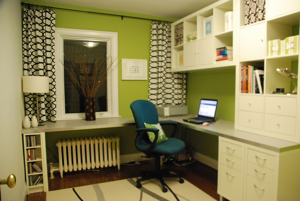 Before After Home Office Makeover Hooked on Houses