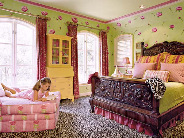 teen girls room colors interior