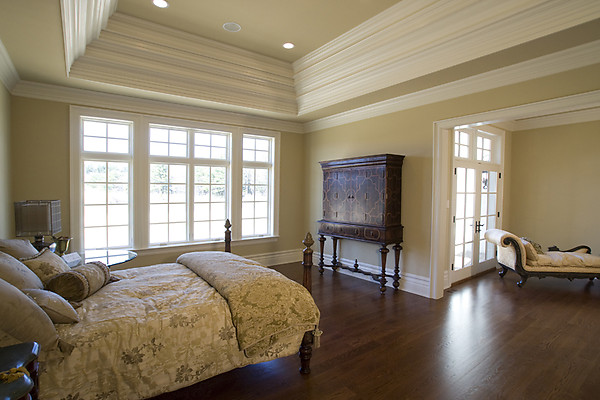 too much crown molding?  hooked on houses,