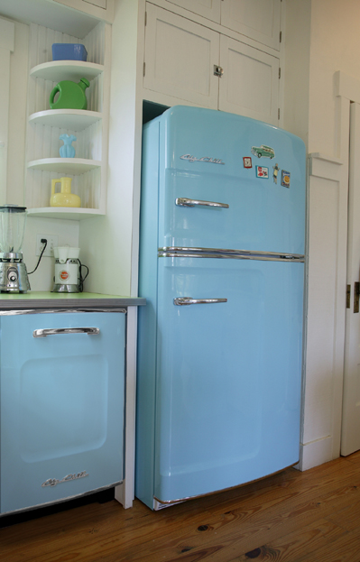 The Big Chill Cool Retro Refrigerators Hooked On Houses